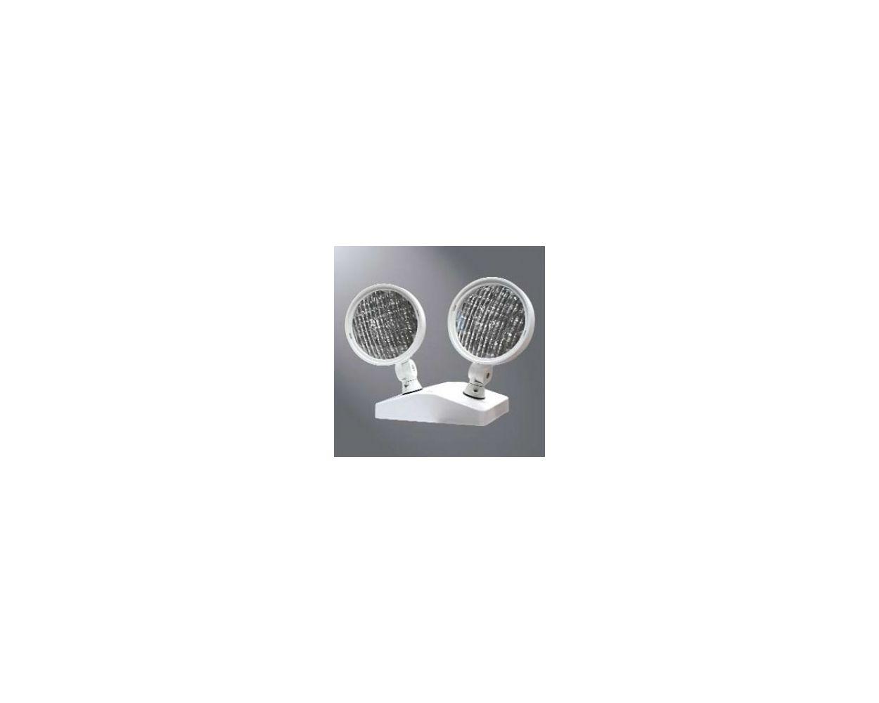 Cooper Atlite Polycarbonate Led 9 6 V Remote 2 Head White Rfled402